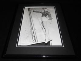 Audrey Hepburn on boat Framed 11x14 Photo Display  - $22.55