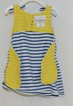 Rare Editions 2 Piece Set Summer Dress Scooter Umbrella Bloomers Size 18 Months image 3