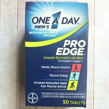 Bayer Men's One a Day Pro Edge Multivitamin 50 Tablets Muscle And Energy Support - $8.90
