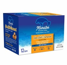 Manatee Gourmet Coffee Sea Salt Caramel Blend 12 to 72 K cups Pick Any Size - $18.98+