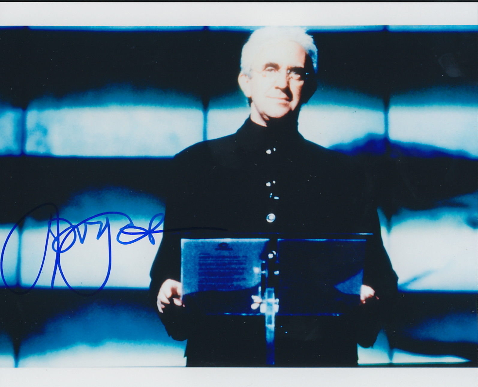 Primary image for Jonathan Pryce signed photo...James Bond's Tomorrow Never Dies.