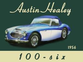 1956 Austin Healey 100- Six Automotive Car Metal Sign - $24.95