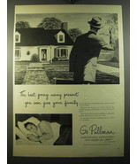 1950 Pullman Trains Ad - The best going away present you can give your f... - $14.99