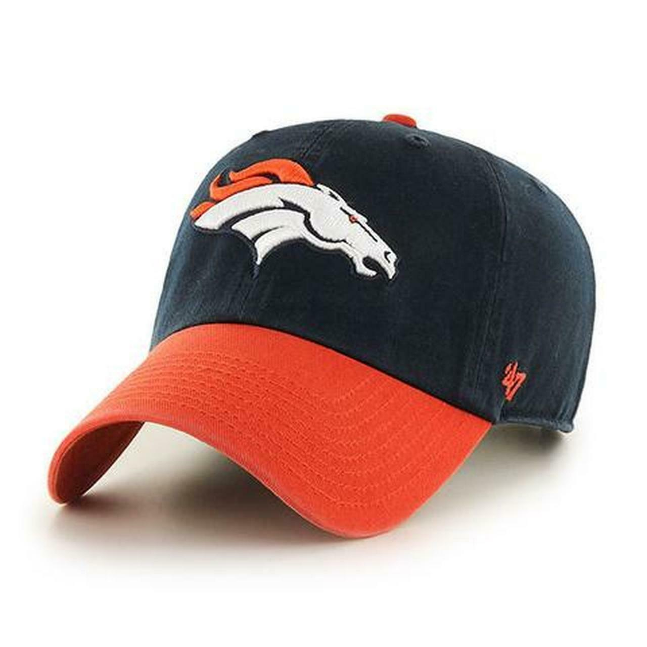 DENVER BRONCOS 47 BRAND TWO-TONE CLEAN UP CAP - $19.79
