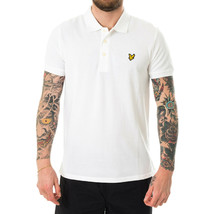 POLO UOMO LYLE & SCOTT PLAIN POLO SHIRT SP400VB.626   Bianco - $58.53