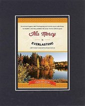 GoodOldSaying  Poem for Inspirations  [His Mercy is everlasting and his ... - $11.14