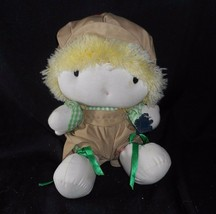 Vintage 1981 Applause Sunbonnet Cuties Boy Peluche Peluche Bambola W/ Tag - $34.30