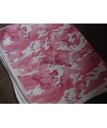 Personalized Girls Pink Camo Camouflage Receiving Blanket Baby Infant Ne... - $28.99