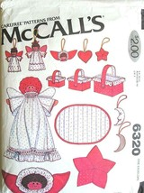 McCall's Pattern 6320 Christmas Ornaments & Decorations Super Pack Uncut... - $6.95