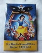Vintage Disney's Snow White & the Seven Dwarfs Movie Pinback Button Collectible - $15.51