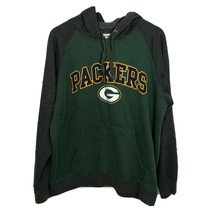 NFL Team Apparel Pullover Hoodie Sweatshirt Size Large Green Bay Packers - $23.05
