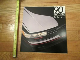 Dodge Colt 1990 Dealership Dealer car Sales Brochure - $8.99