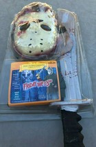 Viernes 13th Jason Voorhees Disfraz Kit Halloween Nuevo Vintage Horror T... - $39.58