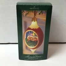 Hallmark Illuminations Sugarplum Dreams Lighted Christmas Holiday Ornament - $18.80