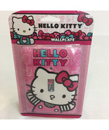 Hello Kitty Hand Painted Wallplate New - $7.99
