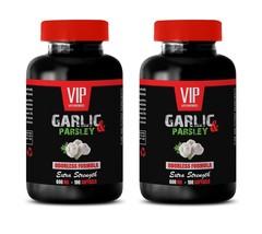 healthy heart supplement - ODORLESS GARLIC & PARSLEY 600mg - immune boos... - $28.01