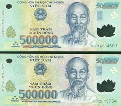 500000 Vietnamese Dong Uncirculated Bank Note for Collectors MINT USA Fa... - $49.49