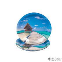 Sand & Sun Paper Dessert Plates - $2.61