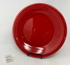 """Fiesta Scarlet Red Dinner Plate 10 1/2"""" Diameter - $8.99"""