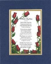 Touching and Heartfelt Poem for Mothers - [A Mother's Day Poem ] on 11 x 14 CUST - $16.33