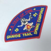 VTG BSA Boy Scouts St. Louis Area Gravois 1991 Spring Camporee Patch - $7.31