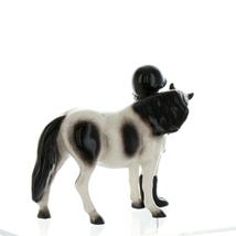 Hagen Renaker Specialty Horse Girl with Pinto Pony Ceramic Figurine image 7