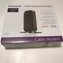 Netgear CM 400 High Speed Cable Modem 340 Mbps - $22.10