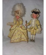 Pair of Celluloid 8 Inch Dolls Fashion Outfits Could Be UK or Austria An... - $26.99