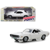 1970 Dodge Challenger R/T White Vanishing Point (1971) Movie 1/18 Diecas... - $81.94