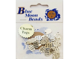 Blue Moon Beads Metal Charms, Assorted