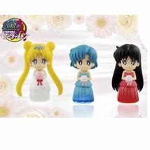 Set of 3  Sailor Moon Stella Color Collection Figure Vol 1  Banpresto - $43.80