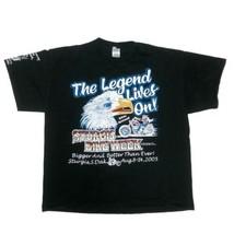 Men's XL Sturgis Bike Week Black T Shirt 2005 Harley 65th Annual Motorcycle Week - $24.70