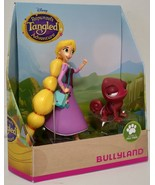Bullyland Disney Tangled Walking Rapunzel & Red Pascal Figurines 13463 - $8.00