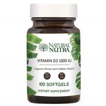 Natural Nutra Supreme Vitamin D3 1000 IU Softgels, Immune Bone and Teeth... - $117.59
