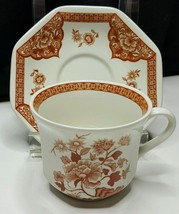 Royal Staffordshire Ironstone Old Pekin Floral Brown Liberty Bell Cup /P... - $10.89