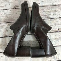 Nine West Brown Block Heel Loafer - Size 7 image 4