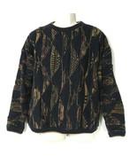 Tundra Sweater Cosby Style Crewneck Vintage Men Size L Mercerized Cotton... - $49.49