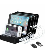 8-Port Charge Station - Multiport USB Charging Dock for Any Smartphone o... - $29.54