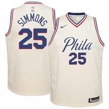 Nike NBA Youth Ben Simmons Philadelphia Sixers Official Swingman Jersey ... - $39.99