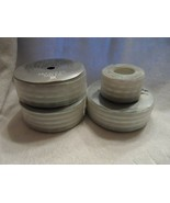 """3 rolls of wired edge lustre iridescent ribbon 1.5"""" wide from McGinley M... - $16.50"""