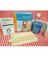 Sally Hansen EXTRA STRENGTH WAX BODY HAIR REMOVAL KIT Vanilla Oil Strips... - $15.83