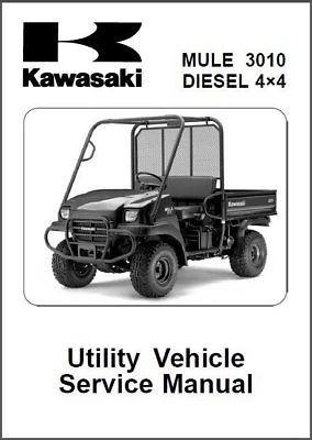 2008 2014 kawasaki mule 3010 diesel 4x4 and similar items rh bonanza com Kawasaki Mule 4010 Kawasaki Mule Engine Replacement