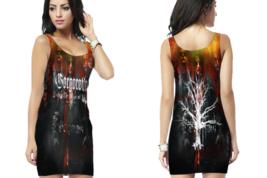 Gorgoroth, Under the Sign of Hell  Womens Bodycon Sleeveless Short Mini ... - $17.99+
