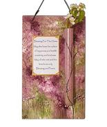 "Sand and Water Creations Keepsake Home Blessing Jewish Wedding 8"" Pink G... - $54.00"