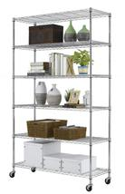 """Commercial 82""""x48""""x18"""" 6 Tier Layer Shelf Adjustable Wire Metal Shelving... - $78.99+"""