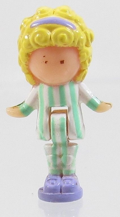 1991 Vintage Polly Pocket Dolls Polly in her Bedroom Locket - Polly Bluebird Toy