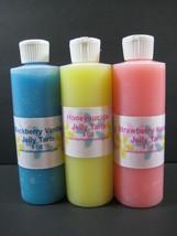 8 Oz Rose Scented Jelly Tarts Home Fragrance Oil One Bottle Melts - $14.99