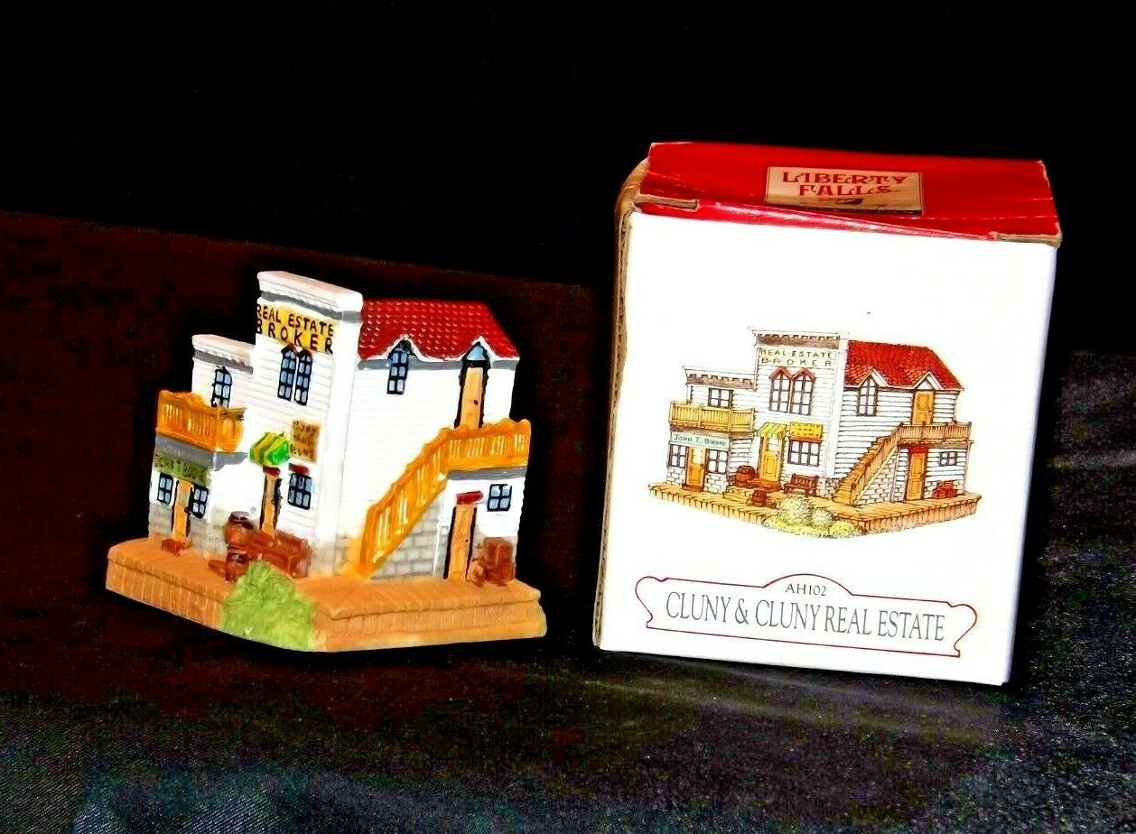 Liberty Falls Collection AH102  Cluny and Cluny Real Estate AA19-1478 Vintage