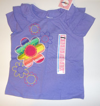 Circo Girls Infant T-Shirt  Size -24 MONTHS  NWT  PURPLE  FLOWERS - $5.42