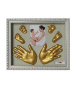 Novelty 3D Plaster Handprint Footprint Baby Mould Party Supplies Home DI... - $27.83